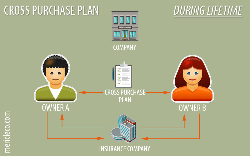 Cross Purchase Buy Sell Agreement with Life Insurance